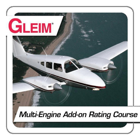 Multi-Engine Rating - Gleim Online Multi-Engine Add-on Rating Course