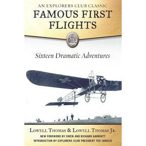 Non-Training Books And DVDs - Famous First Flights - Sixteen Dramatic Adventures