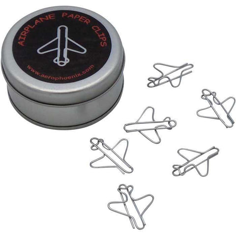 Office - Jet Airplane Paper Clips