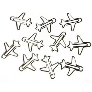 Office - Pilot Toys Airplane Shaped Paper Clips