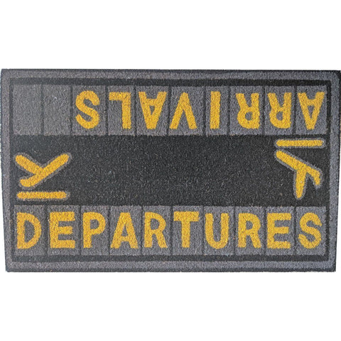 Office - Pilot Toys Arrivals / Departures Door Mat