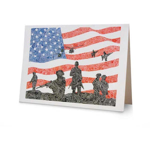 Office - Viz Art Ink American Heroes Greeting Card
