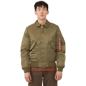 Outerwear - Alpha CWU 45/P Slim Fit Bomber Jacket