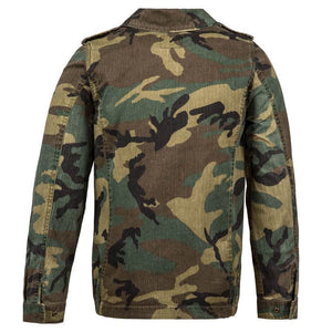 Outerwear - Alpha Woodland Camo F-2 French Field Coat Women's