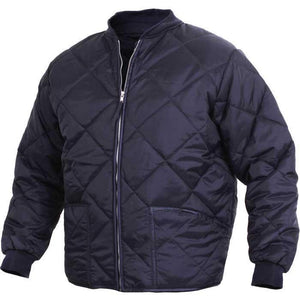 Outerwear - Diamond Nylon Quilted Flight Jacket