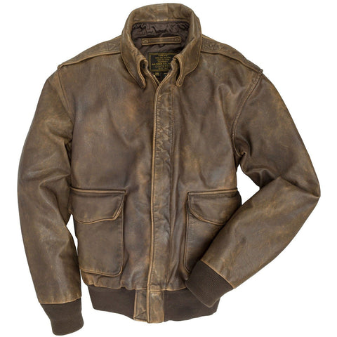 Outerwear - Mustang A-2 Cockpit USA Jacket Z21P008