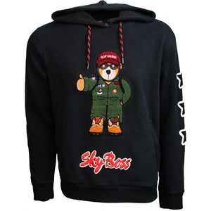 Outerwear - Top Gun Black Sky Boss Hoodie