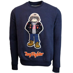 Outerwear - Top Gun Navy Dog Fighter Crew Neck