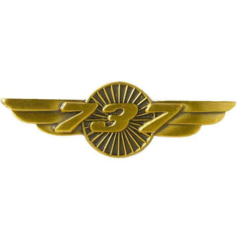 Pins Patches Lanyards Keychains - Boeing 737 Wings Pins