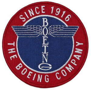 Pins Patches Lanyards Keychains - Boeing Totem Round Patch