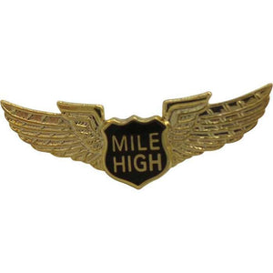 Pins Patches Lanyards Keychains - Mile High Club 3D Pin