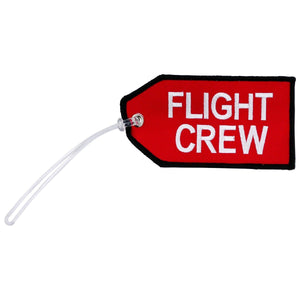 Pins Patches Lanyards Keychains - Pilot Toys Flight Crew Red Bag Tag