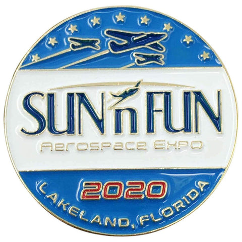 Pins Patches Lanyards Keychains - Pin - 2020 SUN 'n FUN