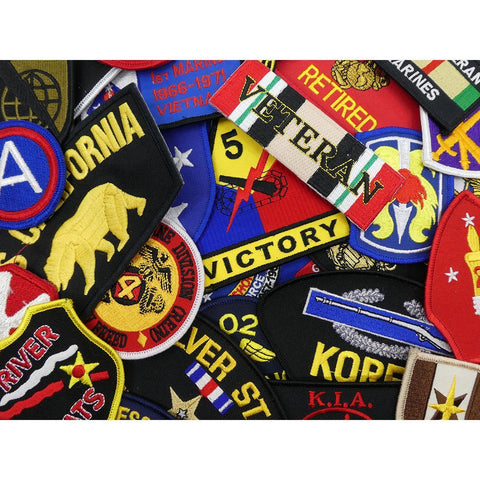Pins Patches Lanyards Keychains - US Military Patch