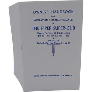 Piper Cub - Piper PA-18-95, PA-18-135, PA-18A-135 Owner's Manual