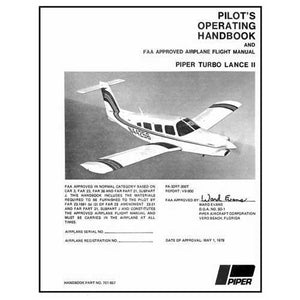 Piper Lance - Piper PA32RT-300T Lance II 1978-79 POH (761-657)