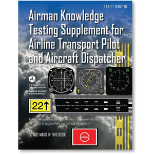 Professional Pilot - ASA Airman Knowledge Testing Supplement - ATP And Aircraft Dispatcher