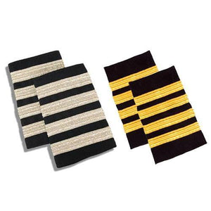 Professional Pilot - Epaulets - Traditional Shoulder Boards For Aviators