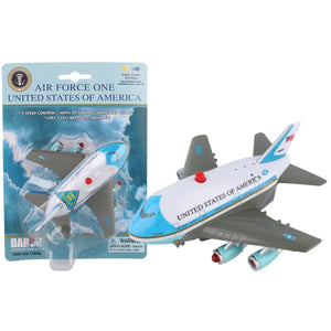 Pull Back Planes - Air Force One Pullback W/Light And Sound