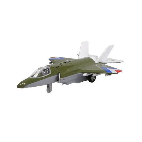 Pull Back Planes - F-35 Jet Fighter Pullback W/Lights & Sound (1 Pc. Assorted Styles)