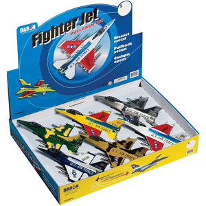 Pull Back Planes - Fighter Jet Pullback Toy (1 Piece / Assorted Styles)