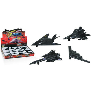Pull Back Planes - Fighter Pullback Aircraft (1 Piece / Assorted Styles)