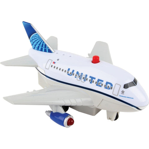 Pull Back Planes - United Pullback W/Lights And Sound (New Livery)