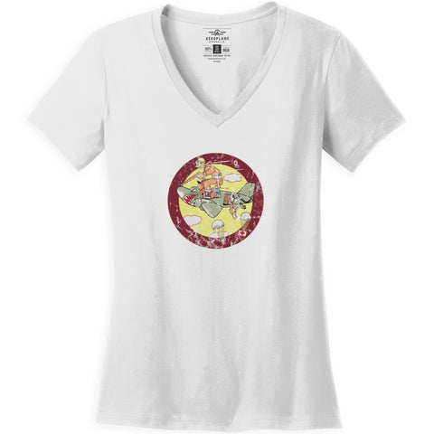 Shirts - 12th Troop Carrier Squadron Aeroplane Apparel Co. Women's T-Shirt