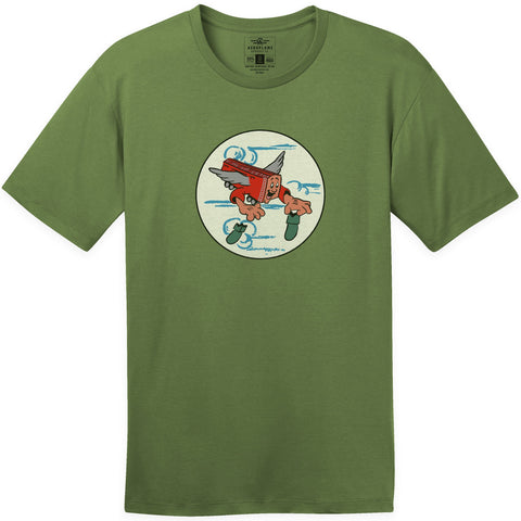 Shirts - 789th Tactical Fighter Squadron Aeroplane Apparel Co. Men's T-Shirt