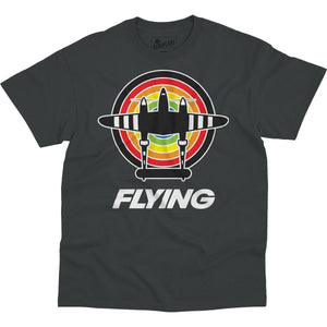 Shirts - Flying Bullseye Flying Aero Shop T-Shirt
