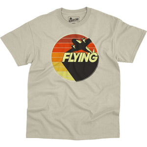 Shirts - Flying In Color Flying Aero Shop T-Shirt