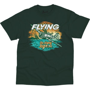 Shirts - Flying Jug Flying Aero Shop T-Shirt