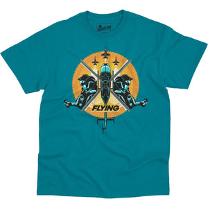 Shirts - Hornet In Lead Flying Aero Shop T-Shirt