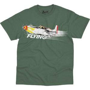 Shirts - Streak Of Flying Flying Aero Shop T-Shirt