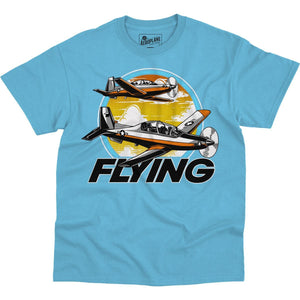 Shirts - T-6 Training Mission Flying Aero Shop T-Shirt