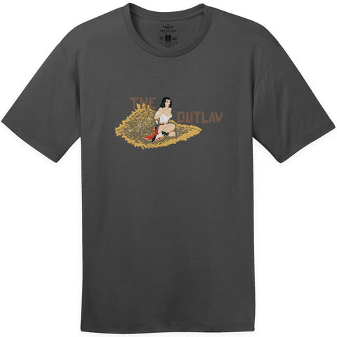 Shirts - The Outlaw B-29 Nose Art Aeroplane Apparel Co. Men's T-Shirt