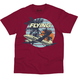Shirts - Tropical Destination Flying Aero Shop T-Shirt