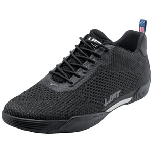 Sneakers - Lift Aviation Air Boss Black Ultraknit (Normal Width) Pilot Shoes