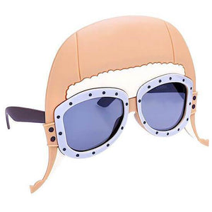 Sunglasses - Sun-Staches Aviator Sunglasses