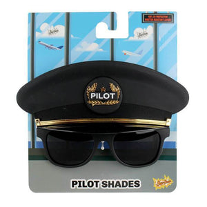 Sunglasses - Sun-Staches Pilot Sunglasses
