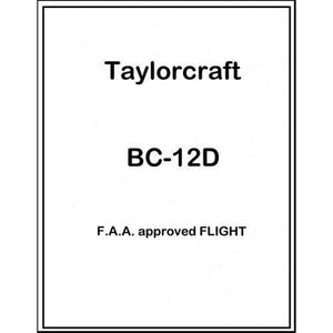 Taylorcraft - Taylorcraft BC-12D Flight Manual (part# TABC12DF)