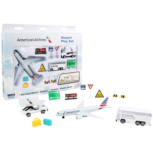 Vehicle Playsets - American Airlines Airport Play Set (New Livery)