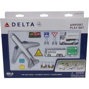 Vehicle Playsets - Delta Air Lines Play Set