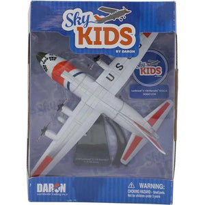 Vehicle Playsets - Sky Kids Lockheed C-130 Hercules USCG