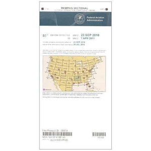 VFR Sectional Aeronautical Charts - FAA Memphis Sectional - Expires February 25, 2021