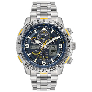 Watches - Blue Angels Promaster Skyhawk Stainless A-T Citizen Watch