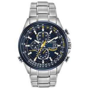 Watches - Blue Angels World Chronograph A-T Stainless Citizen Watch