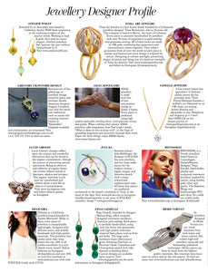 Press Release: Fego Gioielli Featured in British VOGUE Jewellery Designer Profile