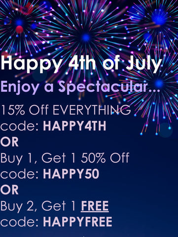 Happy Fourth of July Sale