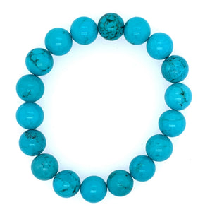 Turquoise Single Stone Bracelet